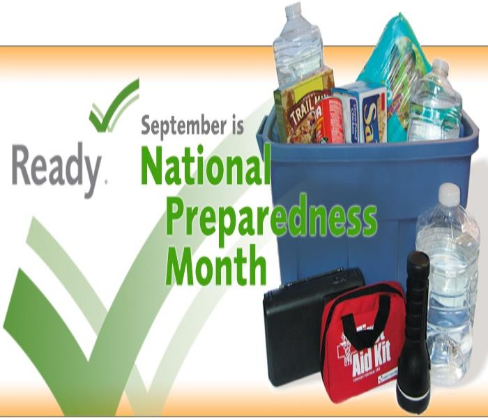 Community National Preparedness Month